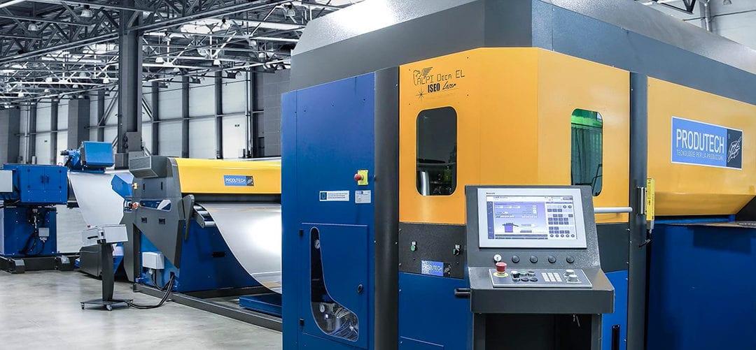 Produtech Coil-Fed Fiber Laser